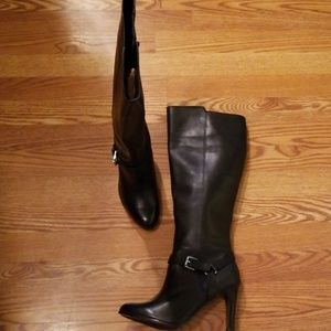 RALPH LAUREN TALL BLACK NEW BOOT SZ 10